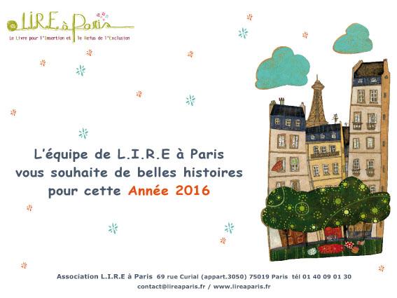 Voeux LIRE à Paris 2016