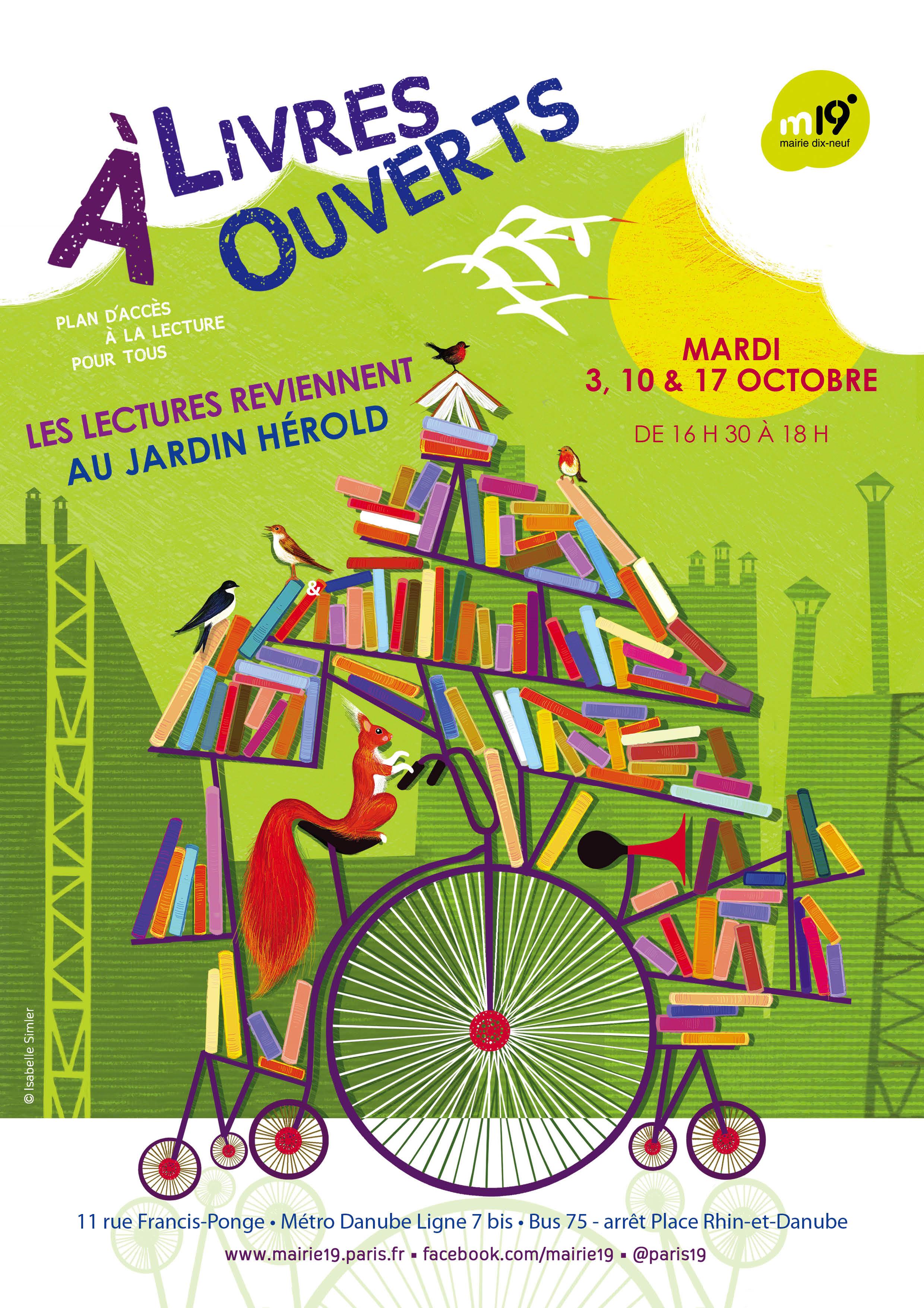 Affiche plan lecture Danube OCTOBRE 20172 | L.I.R.E à Paris