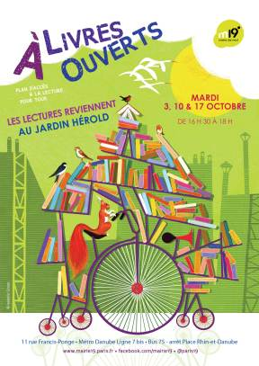 Affiche plan lecture Danube OCTOBRE 20172